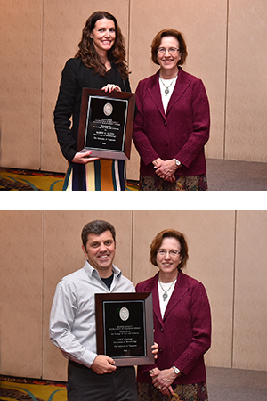 Lloyd, Zinser Honored at Annual Faculty Awards Banquet